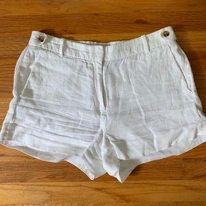 J Crew | linen shorts
